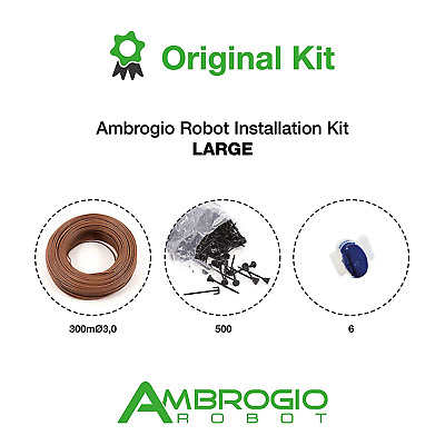 Kit instalare roboti Ambrogio varianta mare 300 metri fir