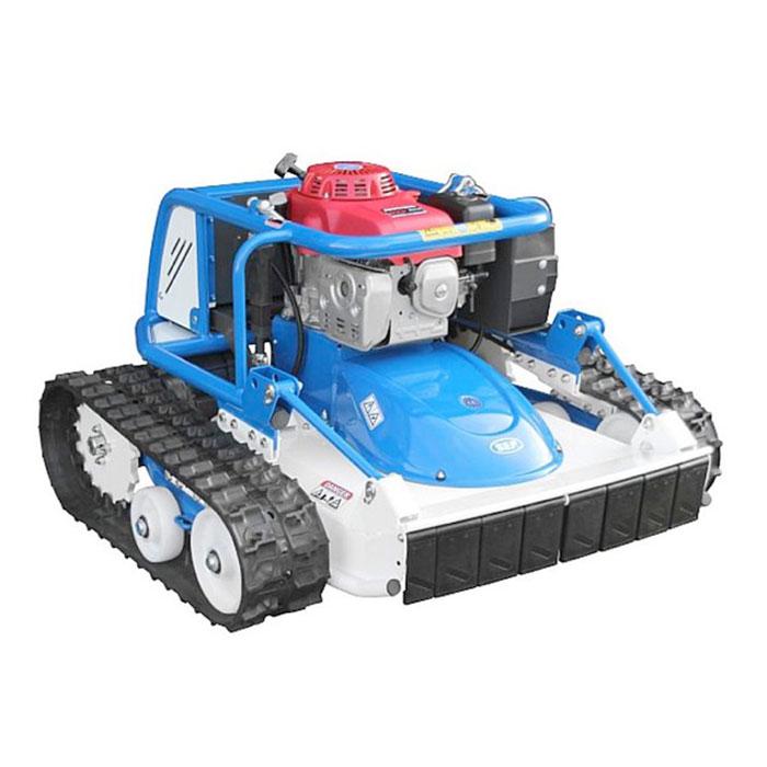 Robot pentru tocat vegetație în pantă XRot, motor în 4 timpi pe benzină, pornire electrică