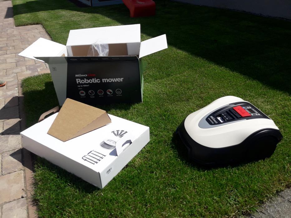 Kit lame /cutite de schimb  3 bucati pentru Honda Miimo HRM40 , HRM40 EC LIve