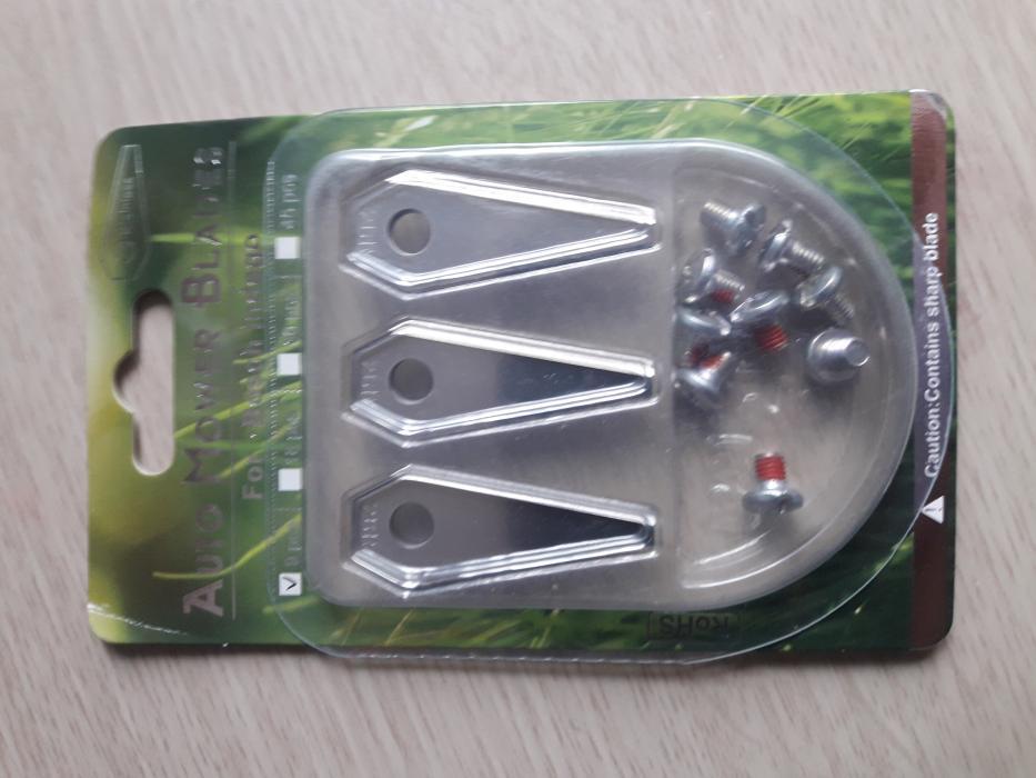 Kit lame /cutite de schimb  3 bucati pentru Honda Miimo HRM40 , HRM40 EC LIve Red Mountain