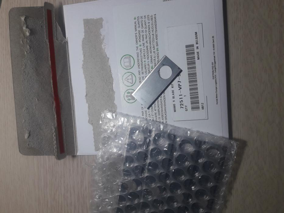 Kit lame /cutite de schimb  9 bucati pentru Honda Miimo HRM310, HRM520, HRM 3000