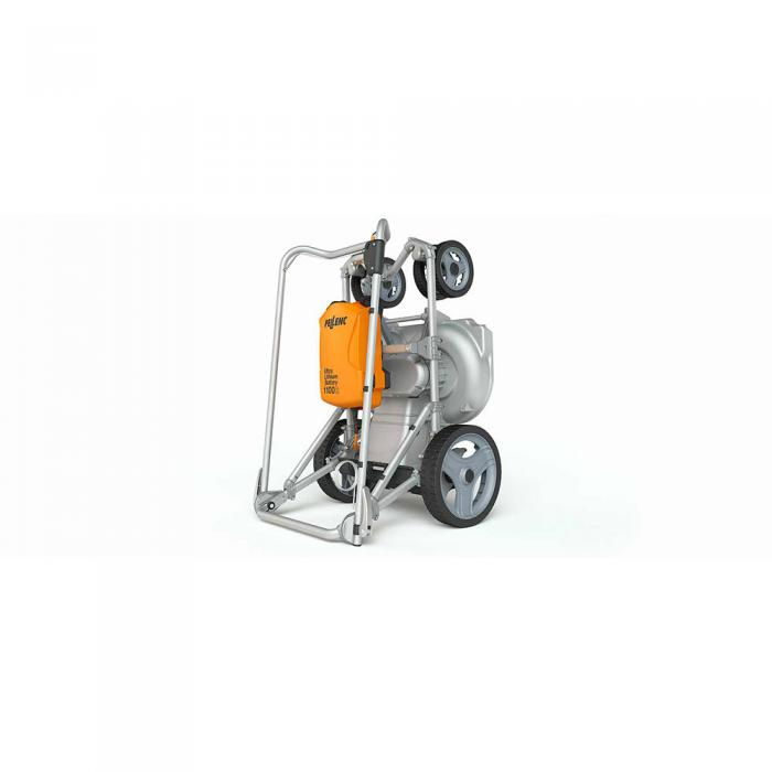 Mașină de tuns gazon electrică pe baterie Pellenc Rasion Easy, 1100 W, sac de 70 litri, 60 cm lățime de lucru