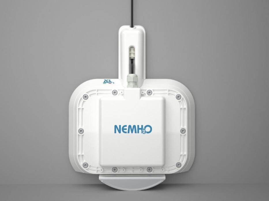 Robot curatat piscina NEMh2O – ELITE, fara fir, autonom, mereu in apa pentru piscine de 50 metri