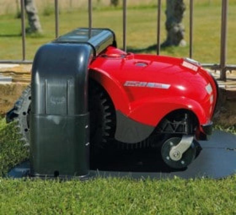 Robot de gazon Ambrogio L250 DELUXE, motor fără perii, 2600 mp, giroscop, receptor Bluetooth