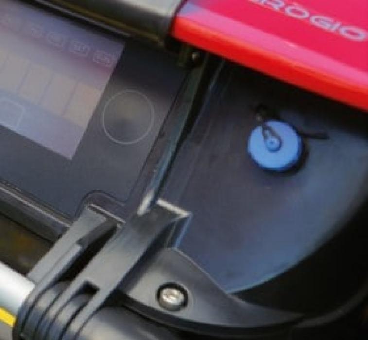 Robot de gazon Ambrogio L250 iELITE, motor fără perii, 3200 mp, giroscop, receptor Bluetooth, GPS, GSM, ZCS Conect